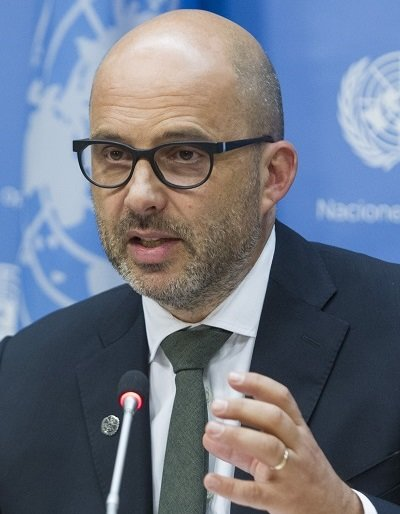 Robert Piper - UN Resident and Humanitarian Coordinator for Palestine
