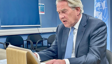 UN Special Coordinator for the Middle East Peace Process, Tor Wennesland briefs (over video conference) the Security Council on the Situation in the Middle East, including the Palestinian question - 22 April 2021