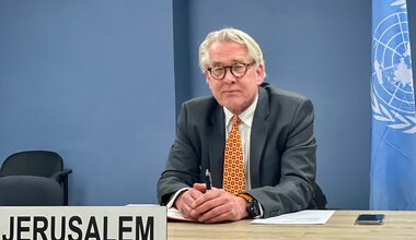 UN Special Coordinator for the Middle East Peace Process, Tor Wennesland briefs (over video conference) the Security Council on the Situation in the Middle East, including the Palestinian question - 26 January 2021