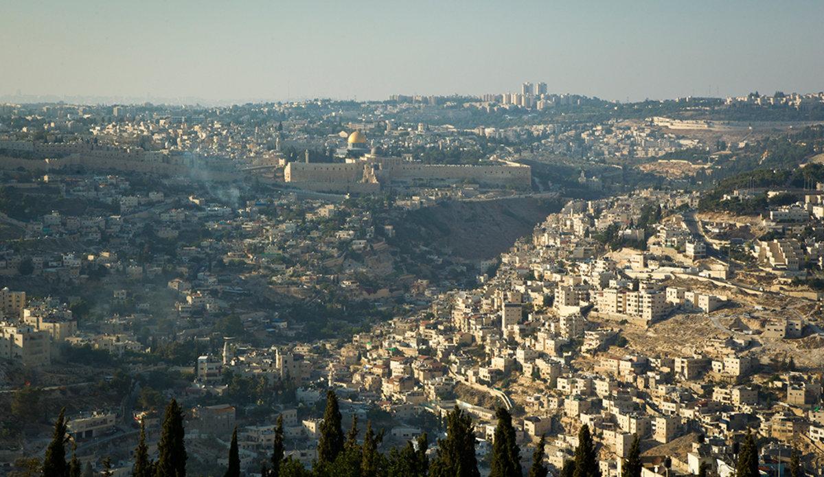 A bird's eye view of Jerusalem. Photo: UN Photo/Rick Bajornas