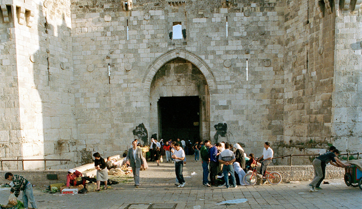 The Damascus Gate_one of the main entrances to the Old City of Jerusalem Photo: UN Photo/John Isaac