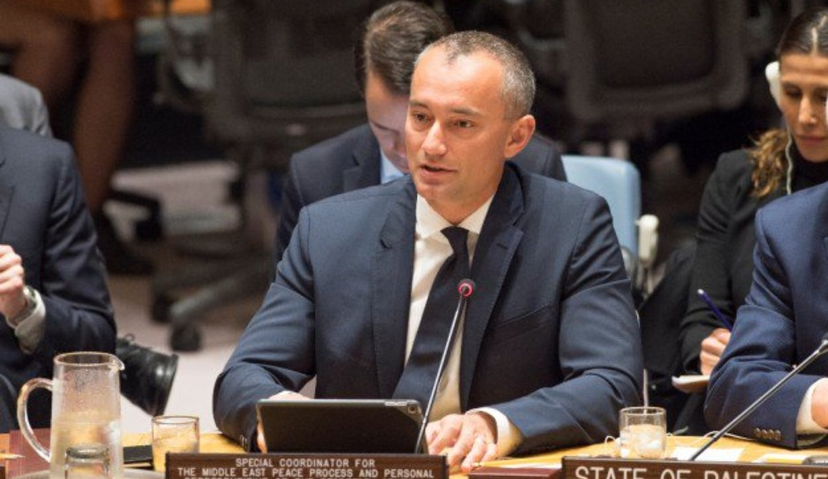 Nickolay Mladenov, Special Coordination for the Middle East Peace Process