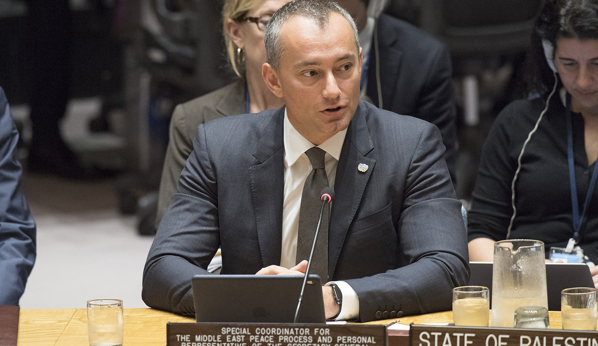 Special Coordinator for Middle East Peace Process Addresses Security Council