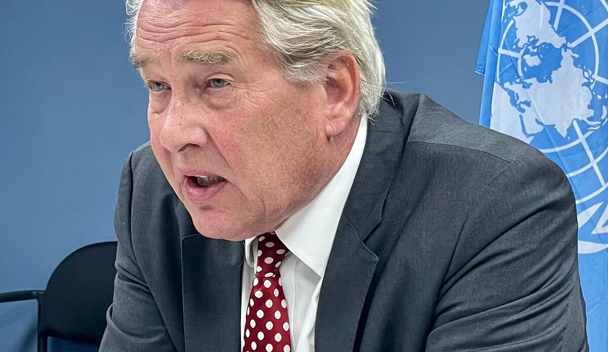 UN Special Coordinator for the Middle East Peace Process, Tor Wennesland briefs (over video conference) the Security Council on the Situation in the Middle East, including the Palestinian question - 24 June 2021
