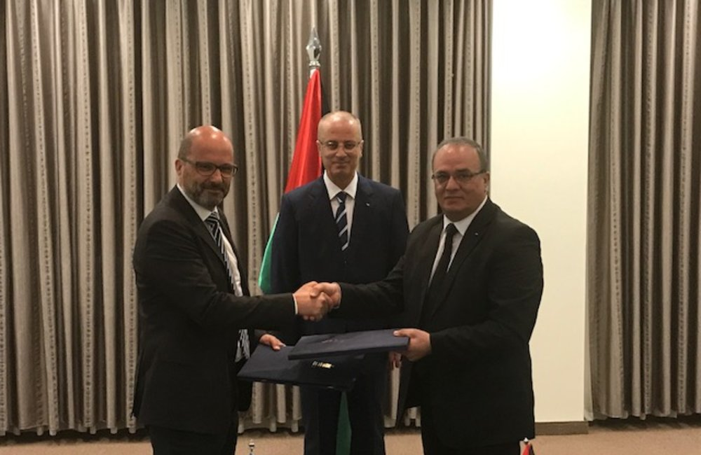 The United Nations and the Government of Palestine sign new 2018-2022 UNDAF in Ramallah