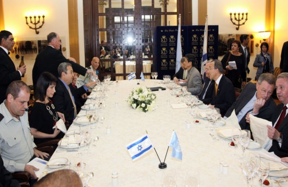 SG Meeting With Barak