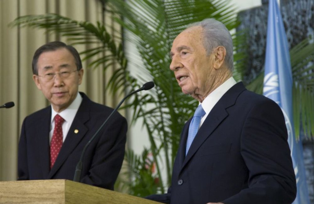 SG Meeting With Peres