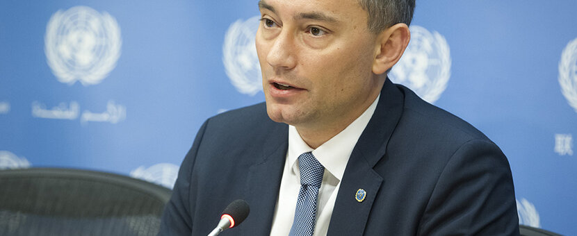 UN Special Coordinator for the Middle East Peace Process, Nickolay Mladenov (UN Photo_Loey Felipe - 23 March 2016)